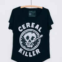 Cereal Killer Dolman Tee