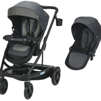 Graco Baby UNO2DUO Twin Tandem Double Stroller w/ Second Seat Bryant 2018 NEW