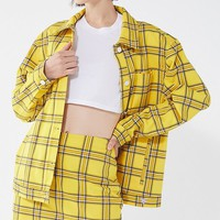 GUESS + UO Plaid Skirt | Urban Outfitters