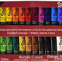 Darice Studio 71 24 Tube Acrylic Paint Set