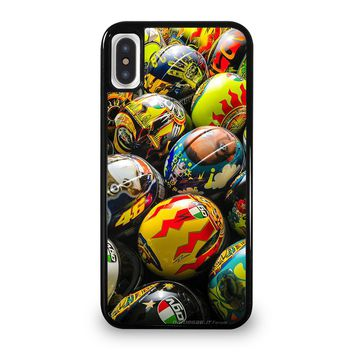 VALENTINO ROSSI AGV COLLECTION HELMETS iPhone 5/5S/SE 5C 6/6S 7 8 Plus X/XS Max XR Case Cover