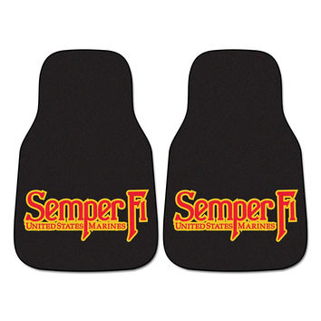 US Marines Car Floor Mats (2 Front)