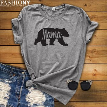 MORE STYLES! Mama Bear, Funny Graphic Tees, Tank-Tops & Sweatshirts