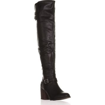 M35 Odiana Over-the-Knee Tall Boots, Black, 7.5 US