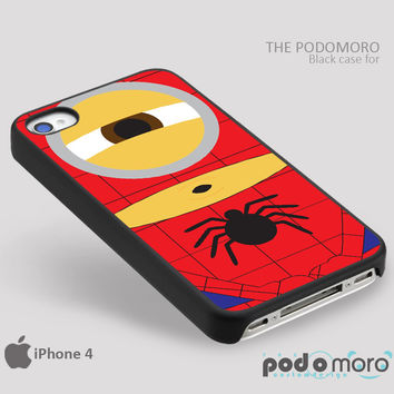 Discapable Me Minion Spiderman for iPhone 4/4S, iPhone 5/5S, iPhone 5c, iPhone 6, iPhone 6 Plus, iPod 4, iPod 5, Samsung Galaxy S3, Galaxy S4, Galaxy S5, Galaxy S6, Samsung Galaxy Note 3, Galaxy Note 4, Phone Case