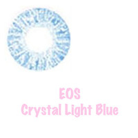 EOS Lens - Crystal Light Blue