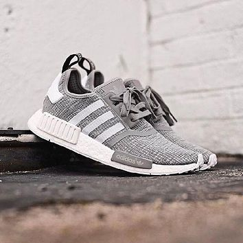 Adidas NMD R1 'Glitch Graphic' Solid Grey
