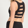 Back Ladder Sports Bra - Black