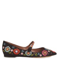 Hermione point-toe embroidered flats | Tabitha Simmons | MATCHESFASHION.COM US