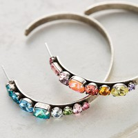Umija Rainbow Hoop Earrings
