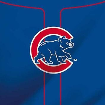 MLB Chicago Cubs iPad Mini 3 Skin - Chicago Cubs Alternate/Away Jersey Vinyl Decal Ski