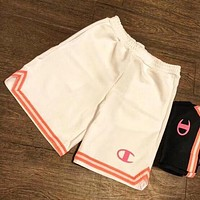 Champion Women Casual Sport Embroidery Shorts