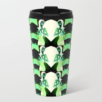 diamonds are a girls best friend mugs Metal Travel Mug by Coffee Cup Heaven