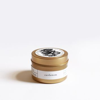 Cardamom Gold Travel Candle