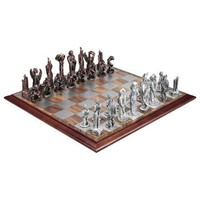 Royal Selangor   Pewter   Products   War of the Ring™ Chess set