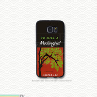 To Kill a Mockingbird, Classic Book, Custom Phone Case for Galaxy S4, S5, S6
