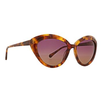 Trina Turk - Amalfi 55mm Tortoise Sunglasses / Pink Brown Lenses
