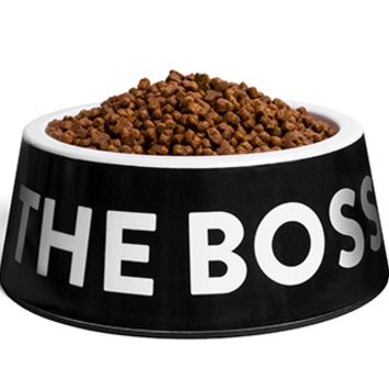 The Boss Black | Dog Bowl