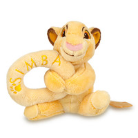 Simba Plush Rattle for Baby