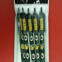 NFL Green Bay Packers Ink Pens - 5 pk
