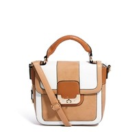 Oasis Rocker Colourblock Satchel at asos.com