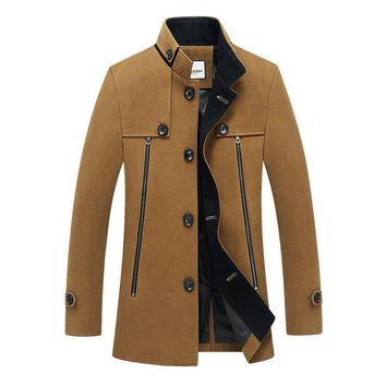 Men's Coats Jackets winter big yards leisure collar