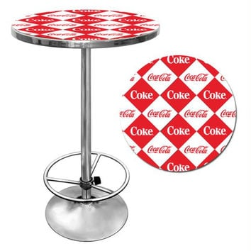 Checker Coca Cola Pub Table