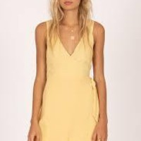 Amuse Jet Lag Mini Woven Dress