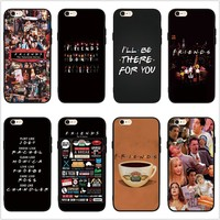 FATPERSON Friends TV Show Funny Central Perk Park Soft Phone Case Cover Coque Fundas for iphone X 10 7 8 Plus 5 5S SE 6 6S Plus
