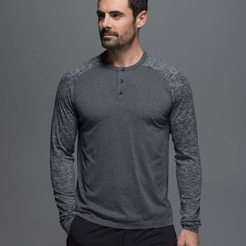 Metal Vent Tech Long Sleeve Henley