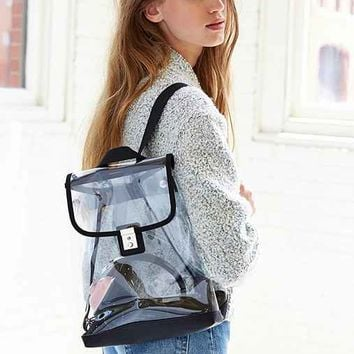 Silence + Noise Clear Mini Backpack- Clear One