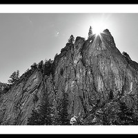 Narrows Pinnacle Boulder Canyon Framed Print