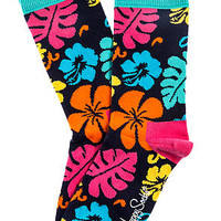 The Hawaii Socks in Tropical Punch
