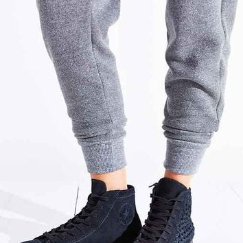 Converse All-Star Woven Suede High-Top Sneaker-