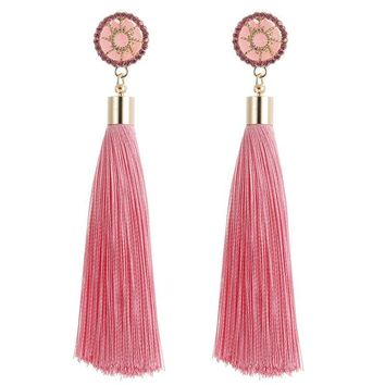 Mona Tassel Earrings