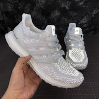 Adidas Ultra Boost 2.0 Limited White Reflective UltraBoost Running Shoes - Best Online Sale