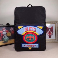 GUCCI MEN'S AND WOMEN'S CANVAS BACKPACK BAG