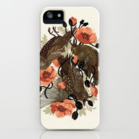 Spangled & Plumed iPhone & iPod Case by Teagan White