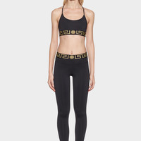 Versace Greek Key Leggings for Women | US Online Store