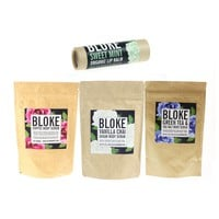 Bloke Body Gift Set - Luxurious Body Scrub and Lip Balm Set