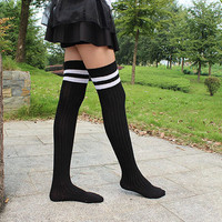 Fashion Womens Knee High Socks Thigh High Socks Boot Socks Boot Cuffs Knee Socks Extra Long Leg Warmers Thigh High Knit Socks 4 Colors