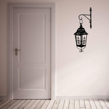 Classic Lamp Wall Decal