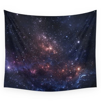 Society6 Stars And Nebula Wall Tapestry