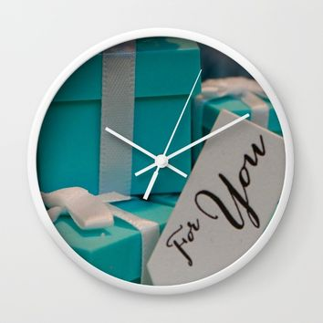 Tiffany's for You Wall Clock by UMe Images