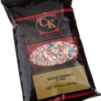 CK Products 16 Ounce Jimmies/Sprinkles Bag, Mixed