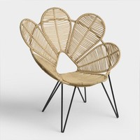 Jute Flower Chair