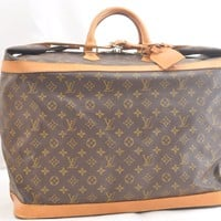 Authentic Louis Vuitton Monogram Cruiser Bag 50 Boston Bag M41137 LV 42030