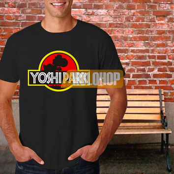 Super Mario World 'Yoshi Park' T-shirt by HOLOHOP