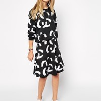 Stussy Skater Skirt With All Over Double SS Logo Co-ord
