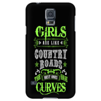 Girls are Like Country Roads Phone Cases